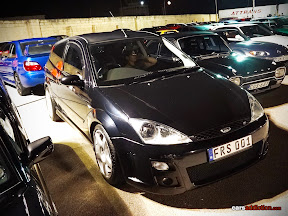 Ford Focus RS in black