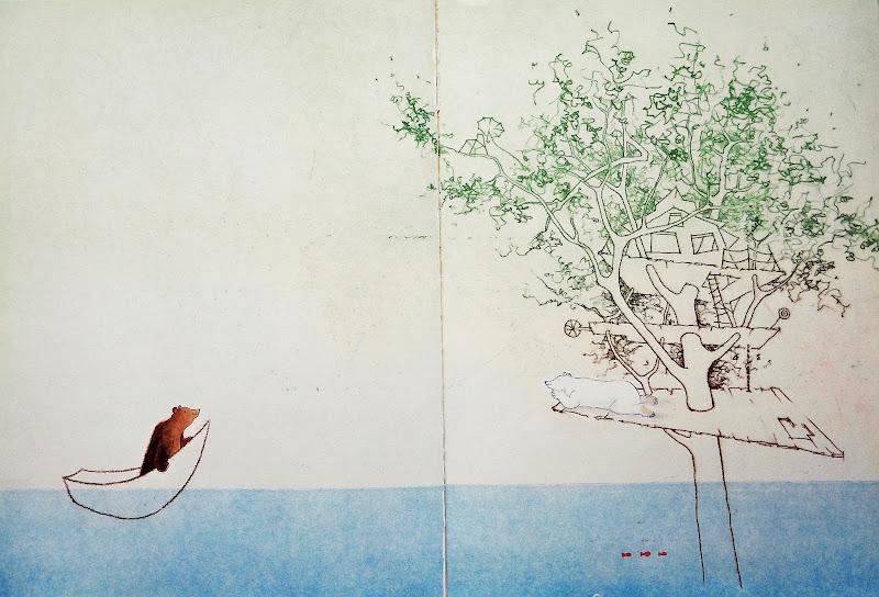 나무 집 - 여름 그림책