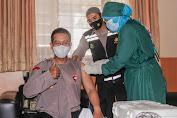 Kapolres Lombok Tengah : Suntik Vaksin Covid-19 Fase kedua, Untuk Menjawab Keraguan Masyarakat
