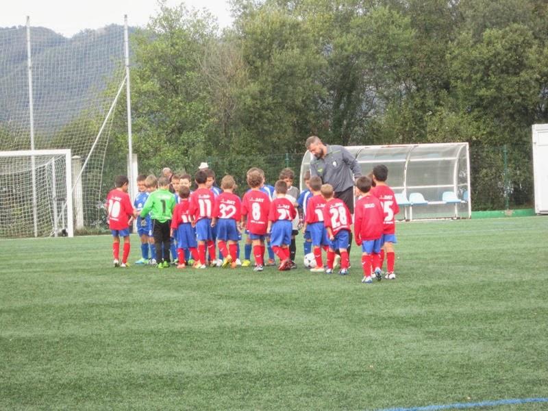 Instante do partido de prebenxamíns Ortigueira - Numancia (28/09/13)