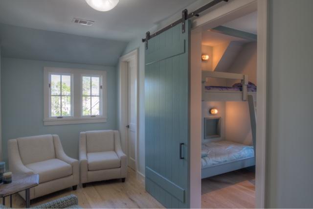 Beach House Reveal Sliding Barn Doors