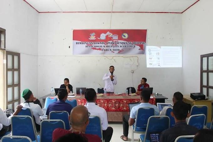 Perdana di Aceh Timur Kecamatan Peureulak Timur Update data Kemiskinan DTKS
