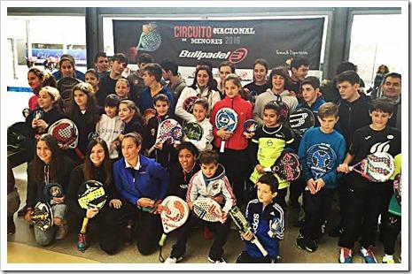 Celebrado con éxito el I TyC Premium 2016 Bullpadel de la temporada en Itaroa - Pablo Semprún Sport Center de Pamplona.
