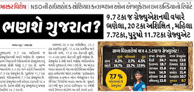 Education Servay Gujarat Amazing Facts