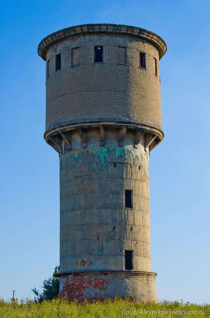 Старая водонапорная башня. Nikon D5100