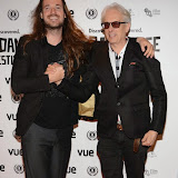 WWW.ENTSIMAGES.COM -  Mike Cahill  and Elliot Grove   arriving at      The 22nd Raindance Film Festival (I Origins) at  Vue Piccadilly, London September 24th 2014Opening gala for annual London-based independent film festival to promote film about two biologists who uncover evidence that may fundamentally change society as we know it.                                                 Photo Mobis Photos/OIC 0203 174 1069