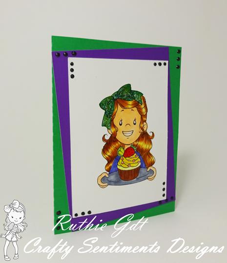 Crafty Sentiments Designs, Isobel - strawberry Ruth Lopez