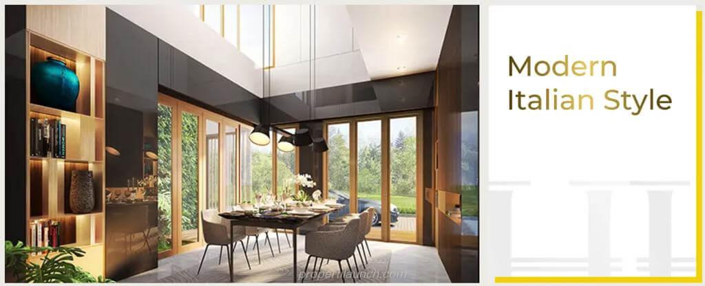 Interior Design Rumah Puri 11 Heritage Residence - Italian Style