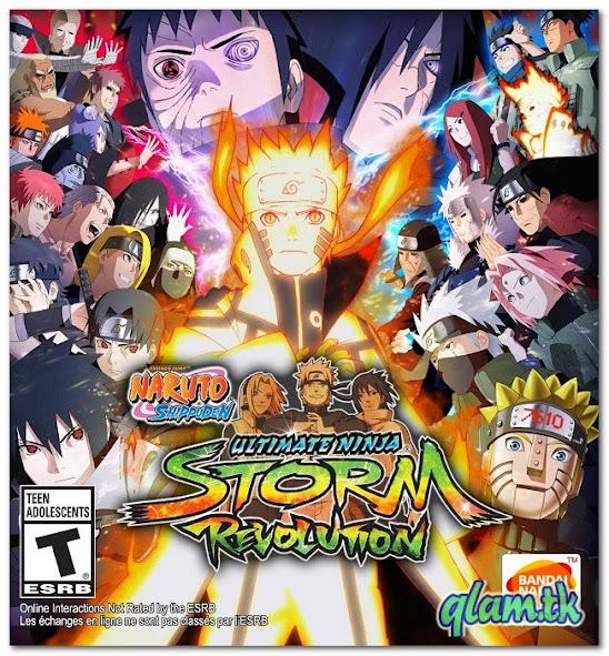 Naruto Shippuden Ultimate Ninja Storm Revolution Repack