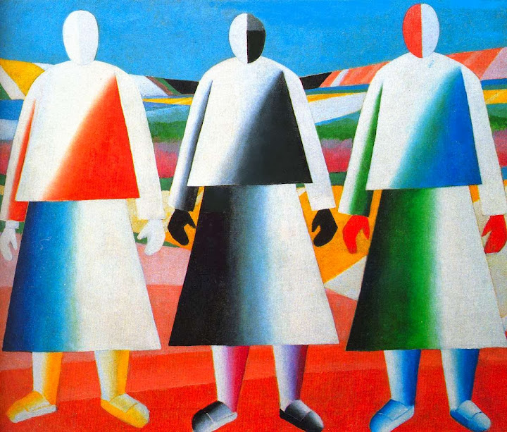 Kazimir Malevich - Girls in the Field