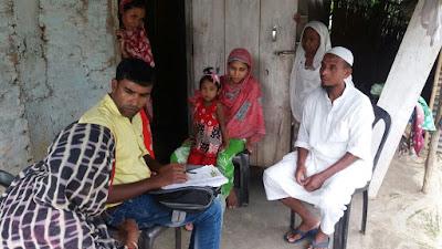 SALT visit to Uttar Khoragaon