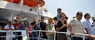 Lancement de la ligne maritime de voyageurs Alger-Cherchell