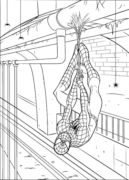 Spiderman Coloring Page Free Printable Spiderman Coloring Pages For Kids  Free Online