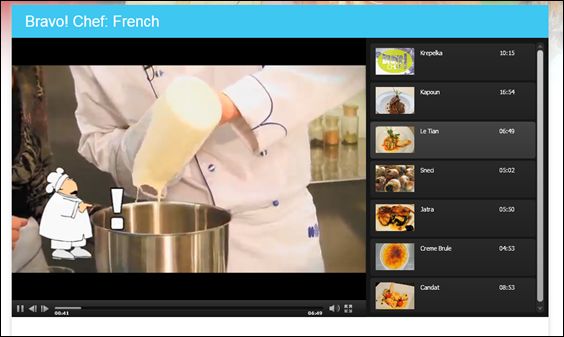 Bravo Chef French recipe leTian from SmartKidz Media Library for Homeschoolers