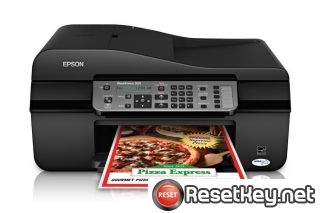 Reset Epson WorkForce 325 printer Waste Ink Pads Counter