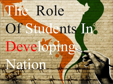 The role of students in developing nation