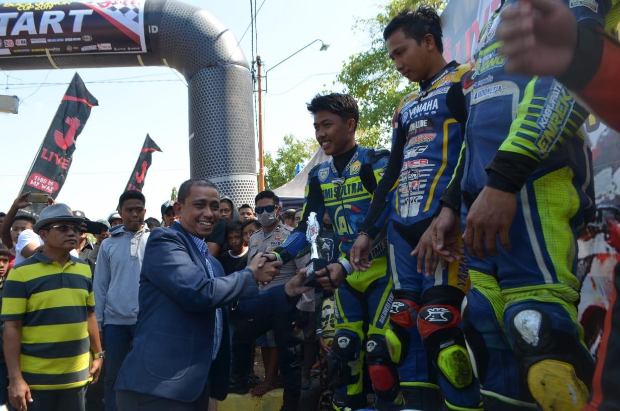 Bupati Wajo apresiasi pelaksanaan balapan Motor Road Race Boca Junior Cup 2019