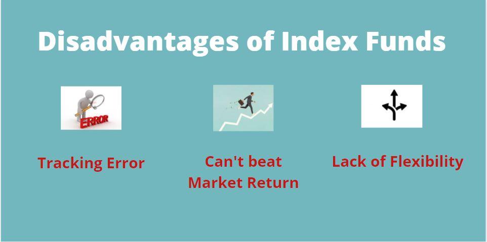 disadvantages of Index Fund