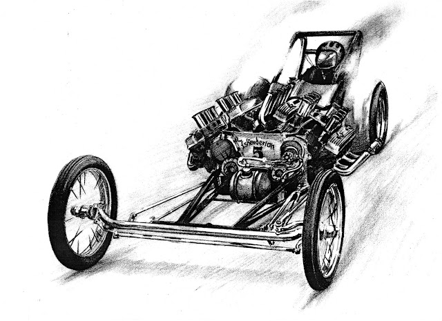 Love this drawing! Ivo's twin record breaker.