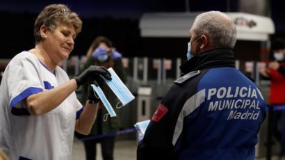 Spain's daily death toll for coronavirus falls