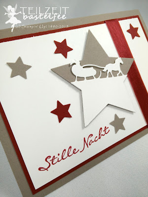 Stampin' Up! - In{k}spire_me #222, Christmas, Weihnachten, Kling Glöckchen, Jingle all the Way, Stars, Sterne, Sleighride Edgelits