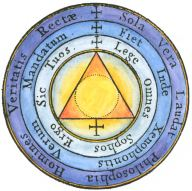 From Athanasius Kircher Mundus Subterraneus 1665, Alchemical And Hermetic Emblems 2