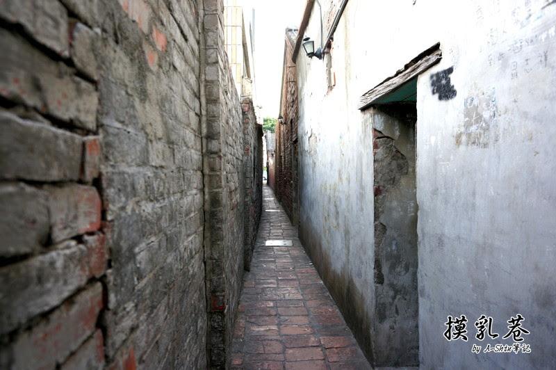窄小的摸乳巷,最小間距只有60公分不到