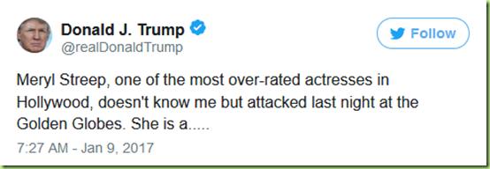 trump streep