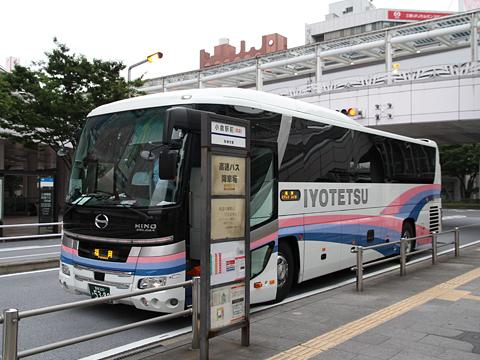 伊予鉄南予バス「道後エクスプレスふくおか号」 5388 小倉駅前到着