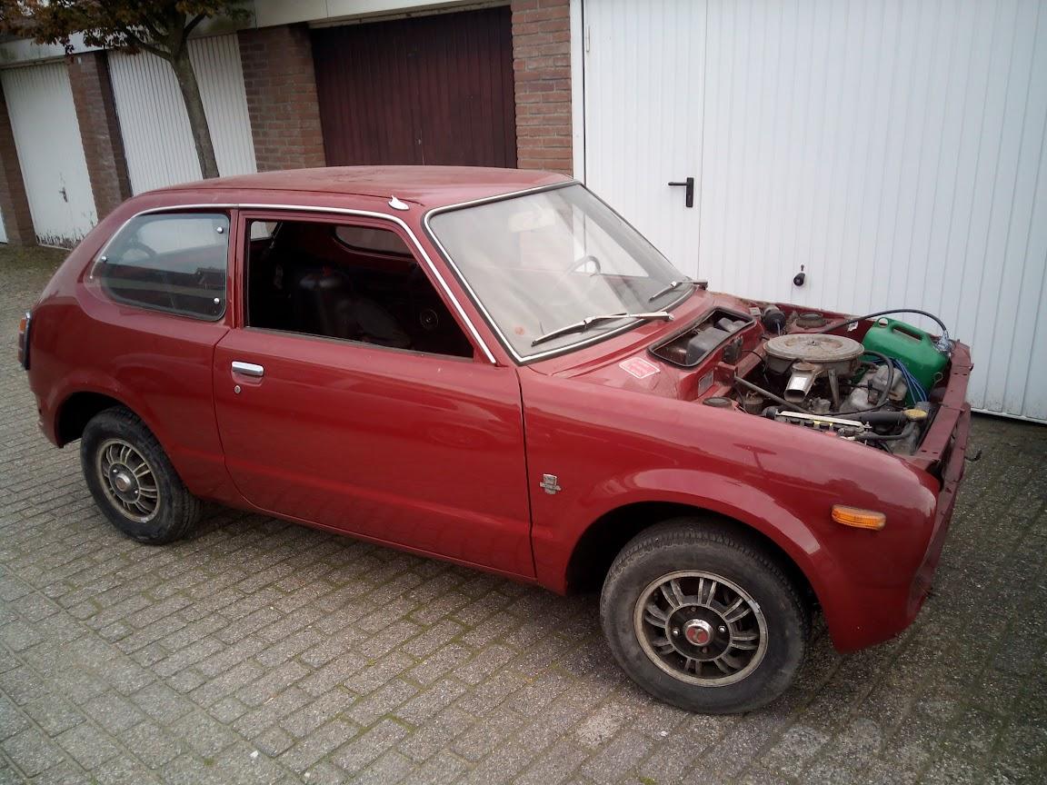 Honda Civic 1973 RS project - Honda Vriendenkring Nederland