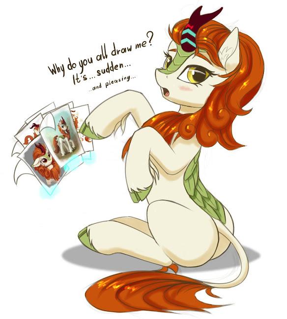 Equestria Daily - MLP Stuff!: Drawfriend Stuff - BEST ART OF KIRIN EDITION  - Part 1