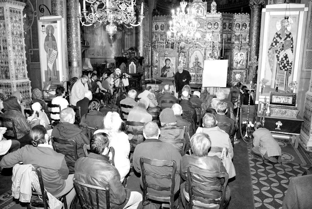 Sorin Dumitrescu la Sf. Silvestru despre Inviere 000 (2)