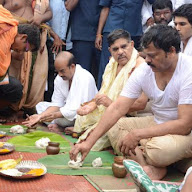 Chiranjeevi At Rajahmundry Pushkaralu
