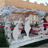 Weihnachtsdeko an der Altstadt Warschau