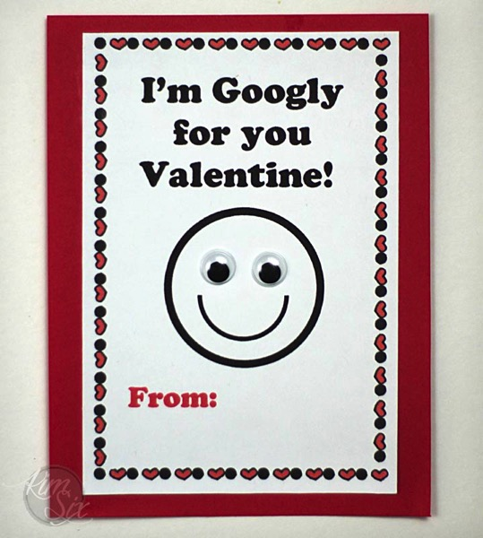 I m googly for you valentine