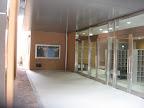 元小学校北玄関