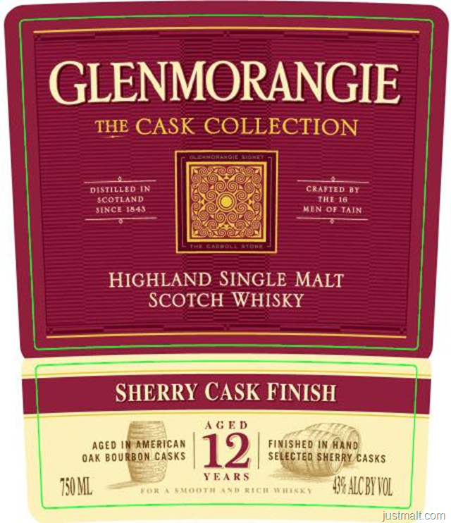 Glenmorangie The Cask Collection Sherry Cask Finish 12-Year