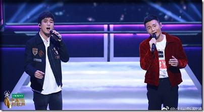 李榮浩 X 閆峻:歌手與模特《中國新歌聲》