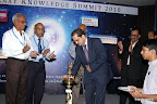 Sri Debashish Mohanty, Country Head, UTI Mutual Fund Lighting the Lamp
