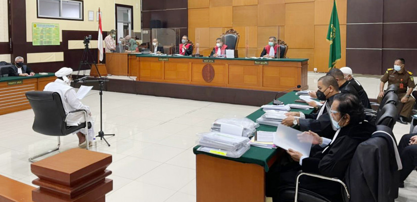 Tanggapi Eksepsi HRS, Jaksa Kutip Hadits Fatimah Puteri Nabi Dipotong Tangan Bila Mencuri