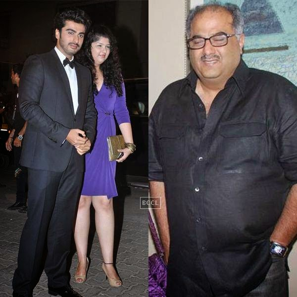 Bollywood producer Boney Kapoor and his ex-wife Mona Shourie's children, Arjun and Anshula, have witnessed their parents' separation.