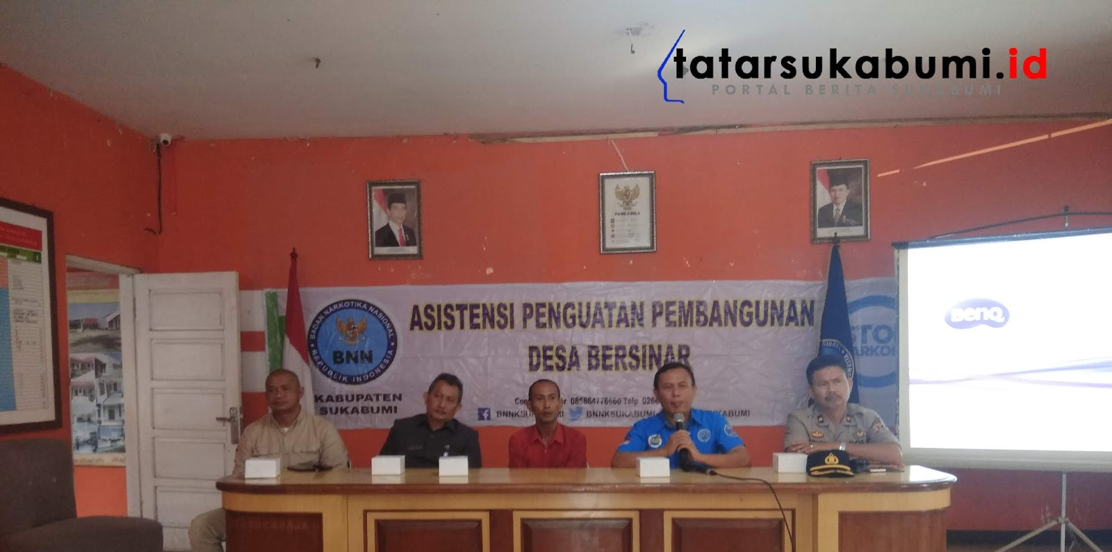 Asistensi BNNK Sukabumi Wujudkan Demand Reduction dan Supply Reduction Peredaran Narkoba