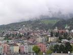 Άποψη του Innsbruck με φόντο τις Άλπεις