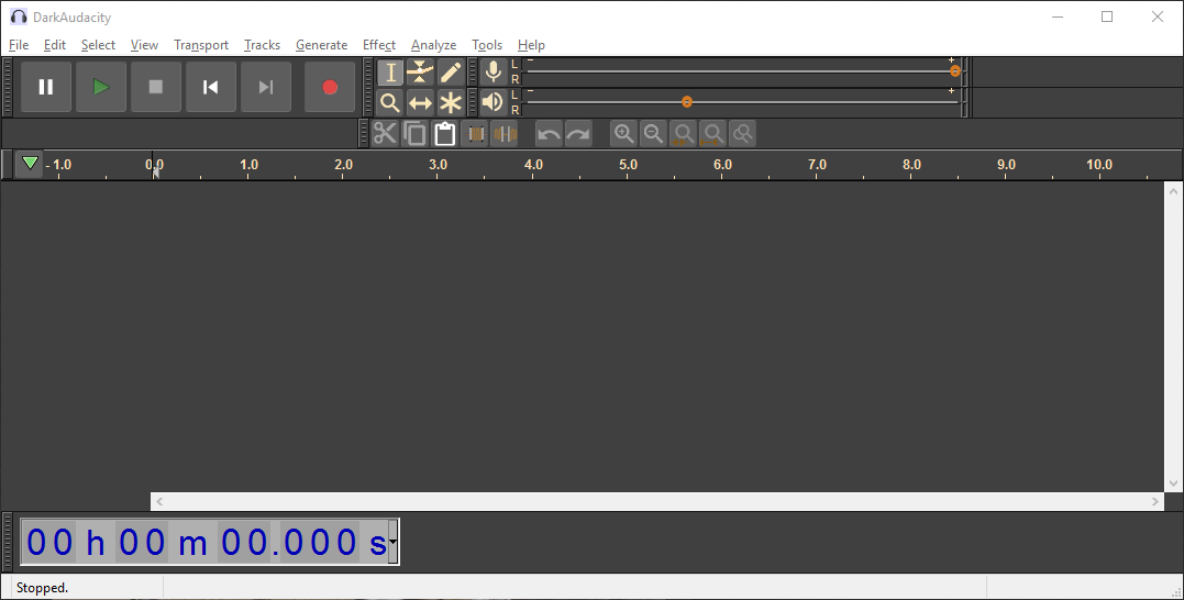 Dark Audacity Portable (sound editor) #PortableApps by #thumbapps org
