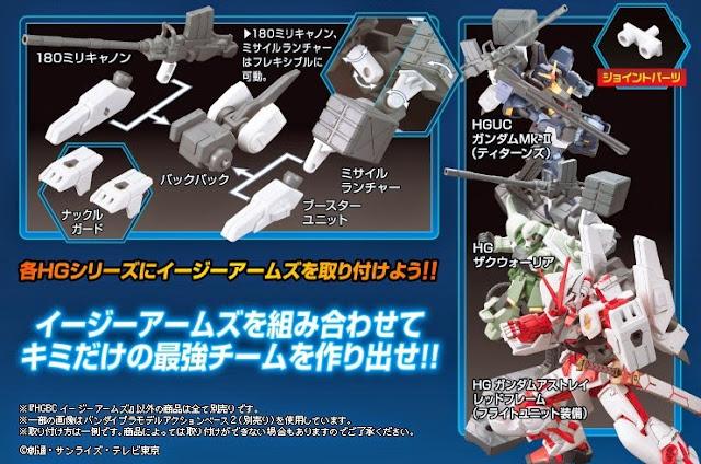 Sáng tạo cùng Vũ khíHG Build Custom 016 Ez-Arms