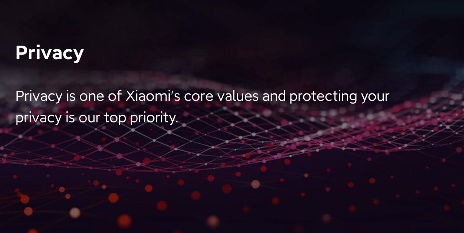Xiaomi เน้นย้ำการคุ้มครองความเป็นส่วนตัว พร้อมเผยนโยบายความเป็นส่วนตัวอีก 2 ฉบับ ย้ำความพร้อมในการขานรับมาตรฐานด้านความปลอดภัยและความเป็นส่วนตัวระดับสากล