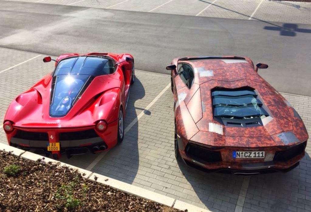 Lamborghini Aventador vs Ferrari LaFerrari on la ferrari vs corvette, la ferrari vs koenigsegg, la ferrari vs bugatti, la ferrari vs mustang,