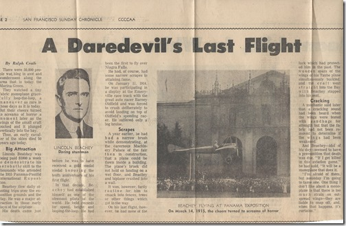A Daredevils Last Flight 3_14_1965