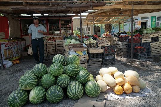 Markt in Tash-Dödö