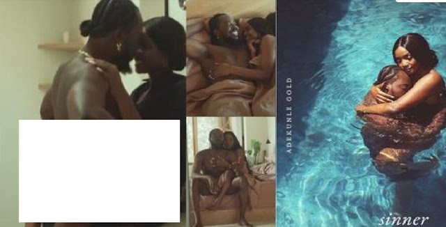 """""""This Oppression is too much"""" – Nigerian react as Adekunle and Simi get intimate in new music video"""